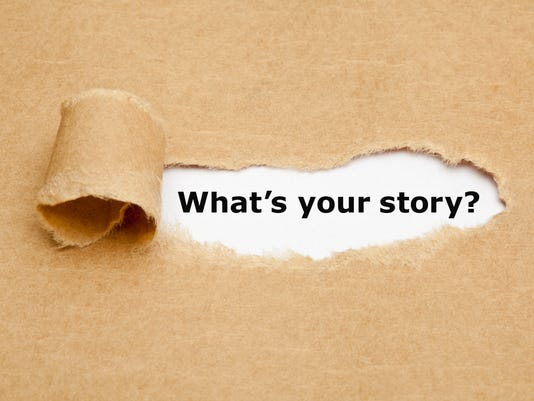 What is Your Story Torn Paper