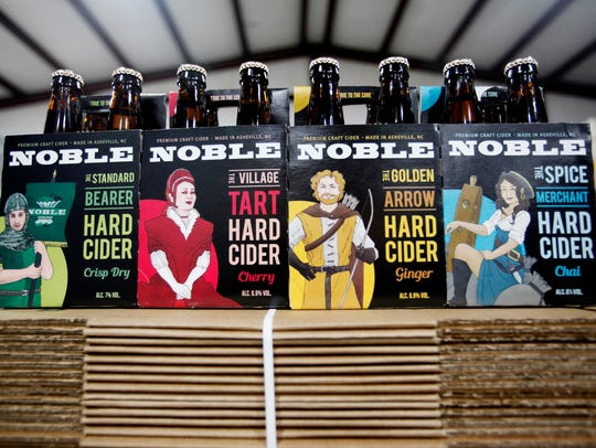 Noble is celebrating the release of four cider varieties