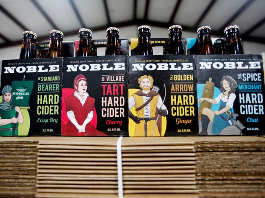 Noble is celebrating the release of four cider varieties in 12-ounce bottle four-packs March 9 from 3:30-10 p.m. in their taproom at 356 New Leicester Highway.