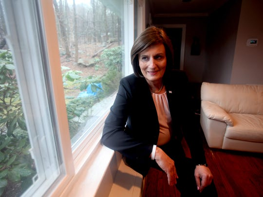 Kristen Browde, aiming to become Westchester's first