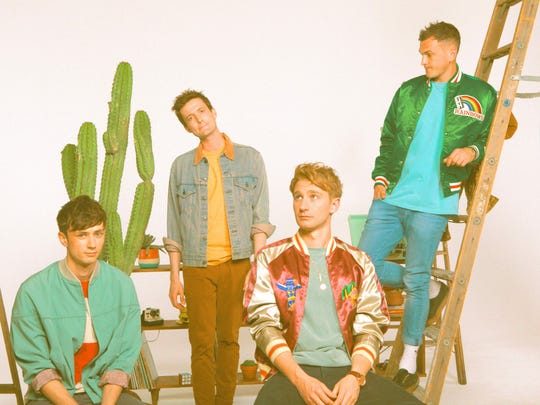 The Glass Animals will be at Coachella on Friday and April 21, then at the Santa Barbara Bowl on April 22.