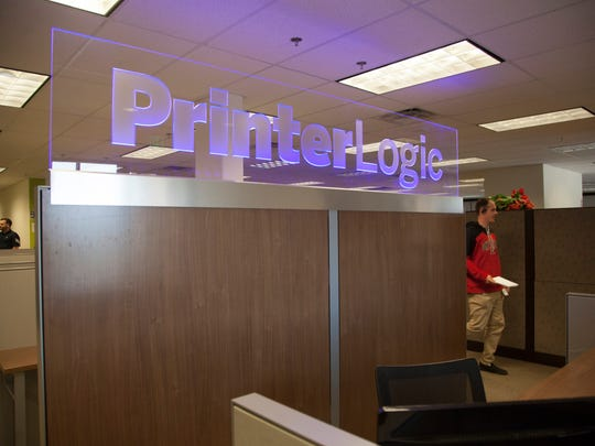 Executives at PrinterLogic, a local tech company, look to expand rapidly over the next few years Thursday, April 13, 2017.