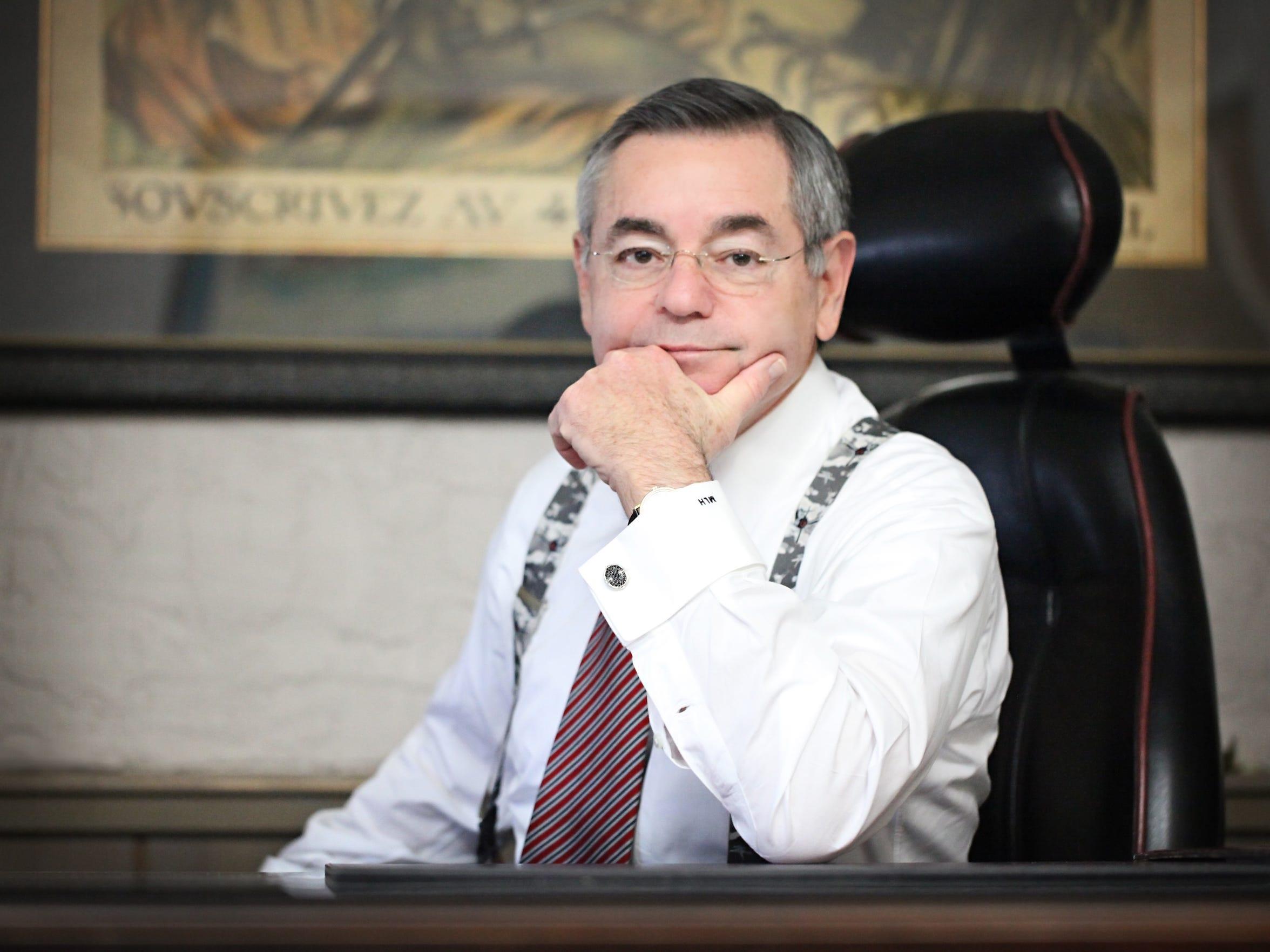 Attorney Mark Horwitz represented Wilton dedge during