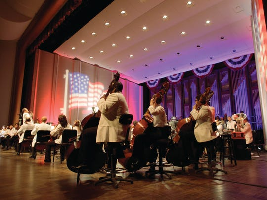 The Naples Philharmonic and the Naples Philharmonic Chorus will return for the annual Patriotic Pops concert at 8 p.m. Friday at Artis—Naples.