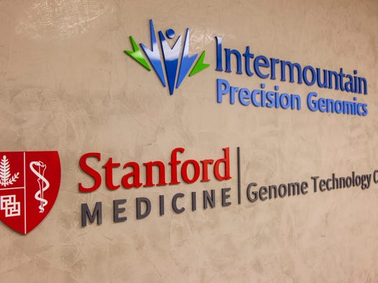 Intermountain Precision Genomics has partnered with Stanford Medicine to develop new treatments for cancer at their lab in St. George, May 23, 2017.