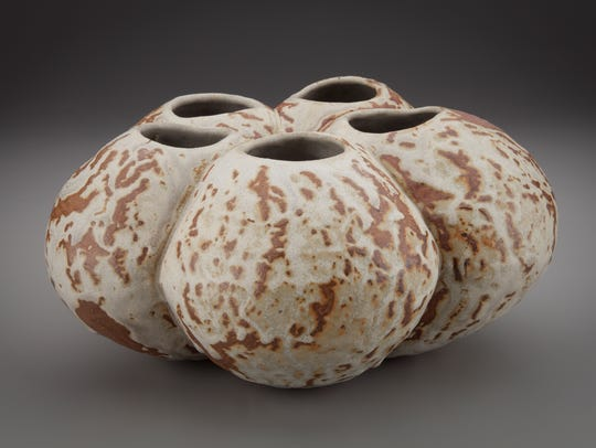 Work by ceramic artist Michael Imes that is part of