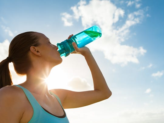 Staying hydrated is especially important when exercising