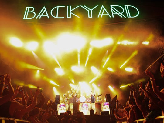 Galantis plays the Backyard Stage Saturday.