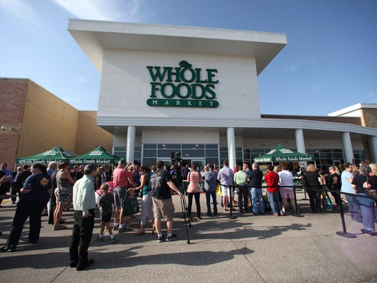 Whole Foods Market in West Des Moines offers natural and organic products as well as prepared foods.