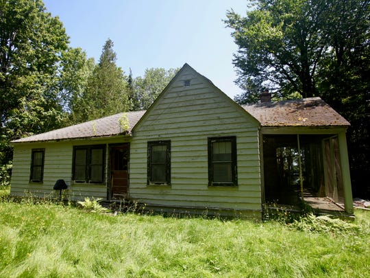 """""""Plenty Charm"""" was built in 1943 and was the cottage of Gertrude Wellisch, a schoolteacher who spent summers on the island."""