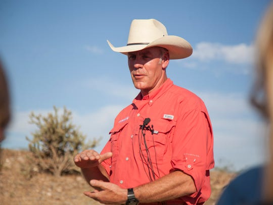 Secretary of the Interior Ryan Zinke visits Bunkerville,