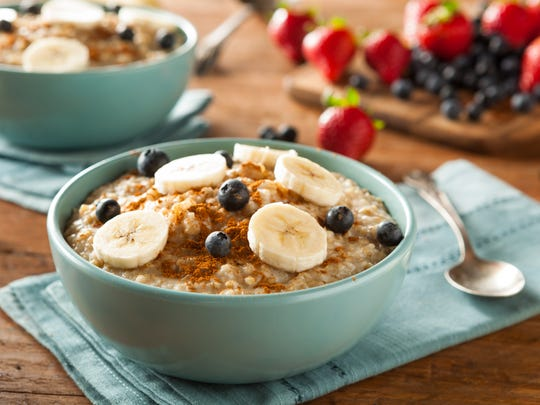 Simplify your mornings with steel-cut oats: Soak them overnight to cutsthe cook time by more than half.
