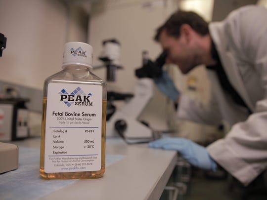 A federal judge has ordered Peak Serum of Wellington, which provides fetal bovine serum to researchers throughout the U.S., to pay $2 million to Atlas Biologicals of Fort Collins for trade infringement.