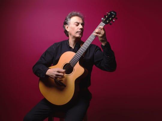 Pierre Bensusan performs at Shank Hall Sunday.