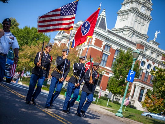 Clarksville capped off a weeklong Welcome Home Veterans Celebration with a parade downtown on Saturday.