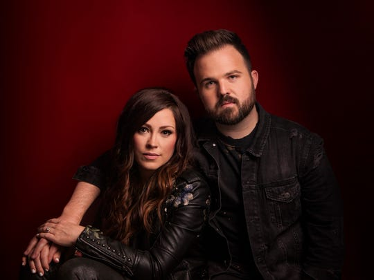 Kari Jobe and Cody Carnes will perform on Oct. 8 at the Tennessee Theatre.