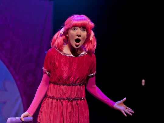 "A scene from Vital Theatre's ""Pinkalicious: The Musical."""