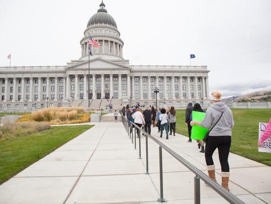 The Utah State Capitol