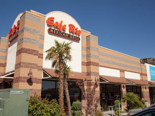 Cafe Rio Mexican Grill in St. George Wednesday, Oct. 4, 2017.
