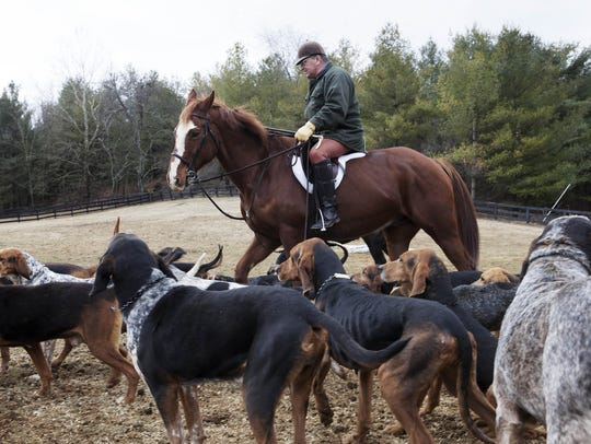 Middlebrook Fox Hunting Club on Wednesday, Feb. 27,