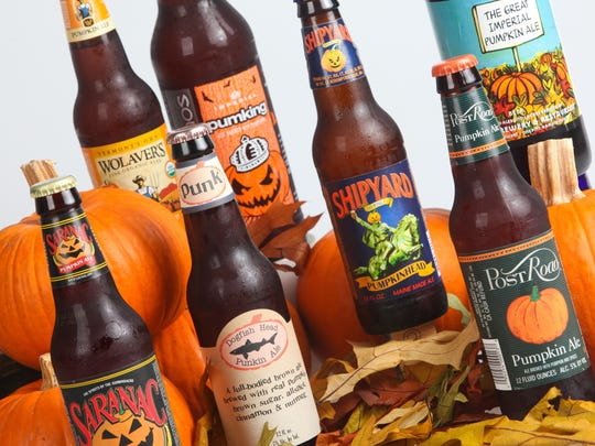 Pumpkin beer is available at a number of local events.
