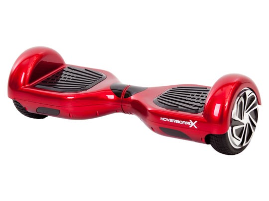 Hoverboards are still a popular holiday gift item.