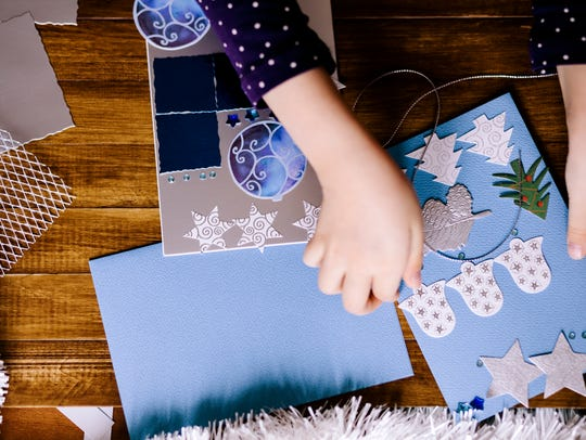 Design and create Christmas cards for special friends