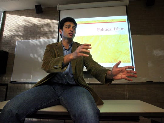 In this 2010 photo, Mahmoud Hamad teaches a class called