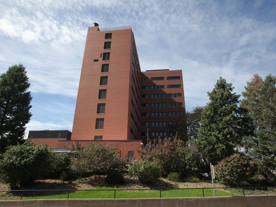 The VA Medical Center in Iowa City is pictured in 2014.(Photo: