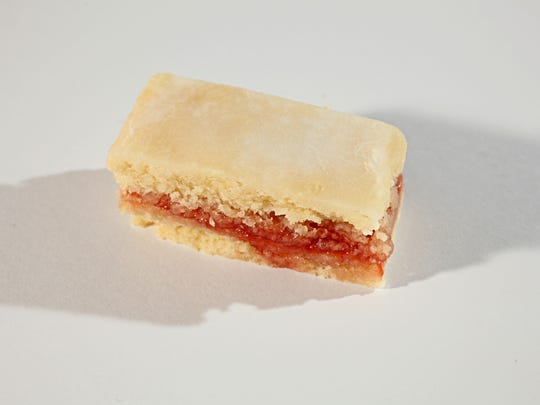 Latvian Jam-Filled Bars, the 2011 winner of the Journal