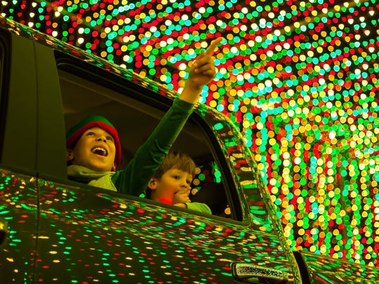 """Illumination"" is one of the biggest light displays in the Valley."