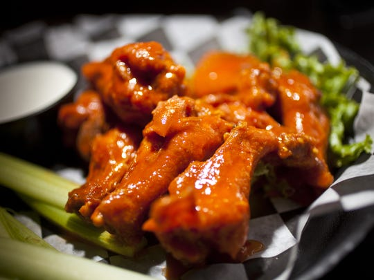 Wings from Francie's in Des Moines. Zach Boyden-Holmes/Juice