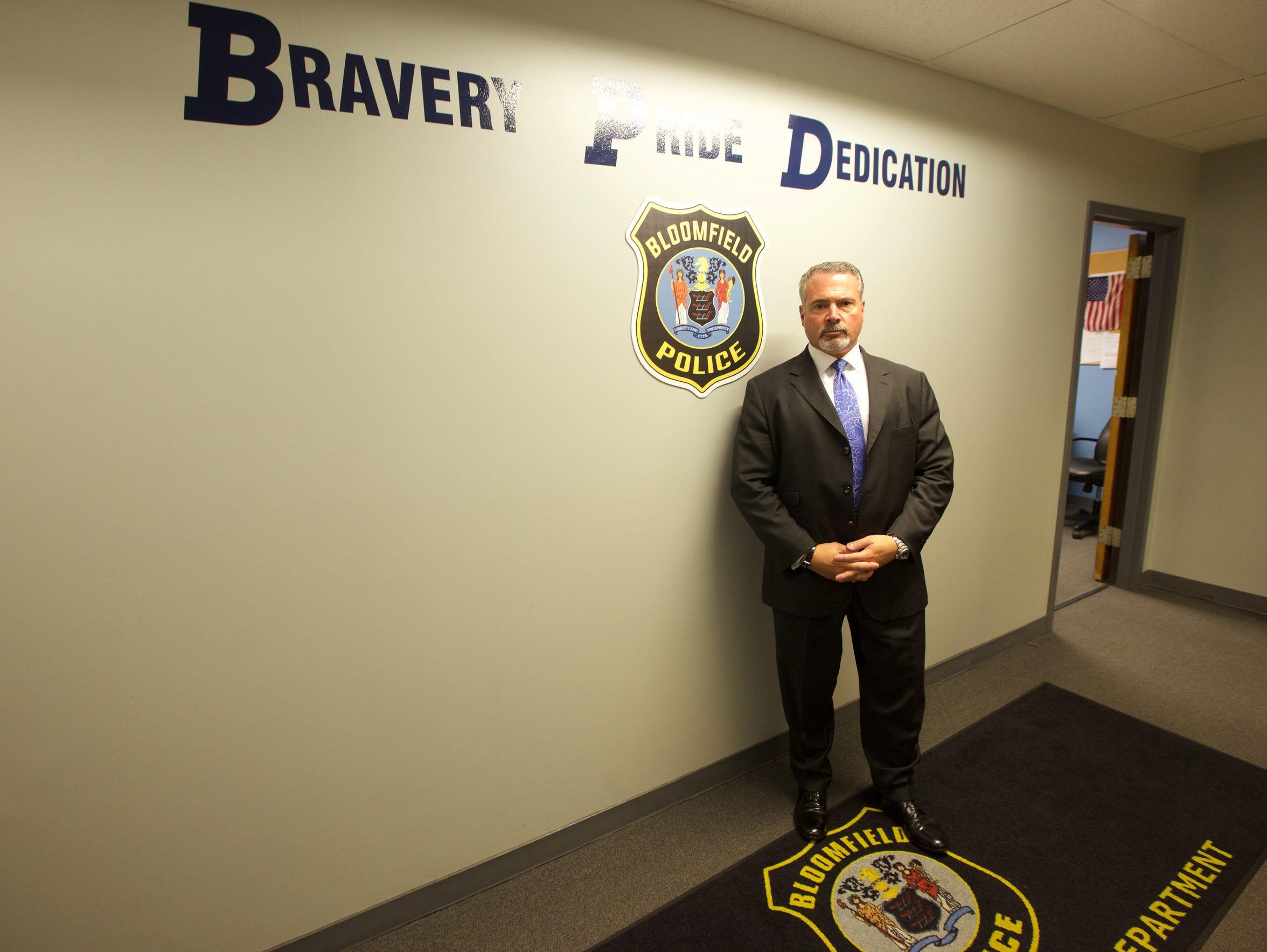 Bloomfield public safety director Samuel DeMaio