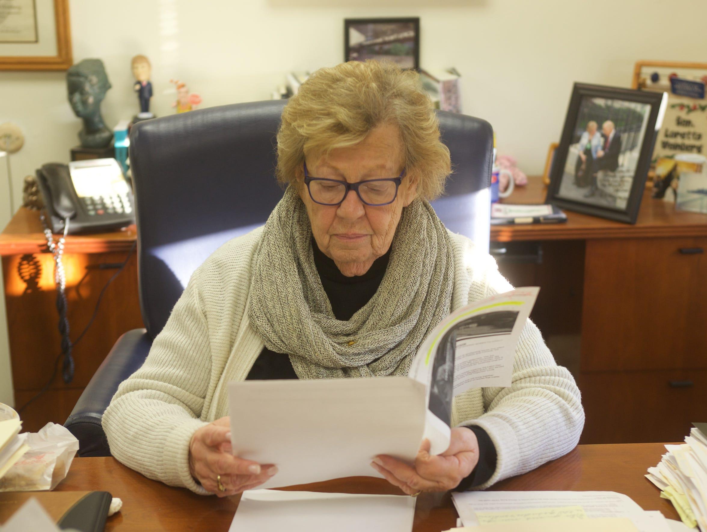 State Sen. Loretta Weinberg, D-Bergen