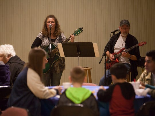 Washington County citizens celebrate the 155th St. George Heritage Days at the St. George Social Hall Saturday, Jan. 20, 2018.