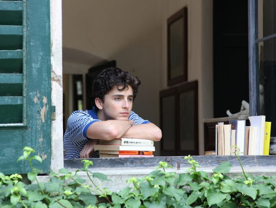 """Timothee Chalamet in a scene from """"Call Me By Your"""