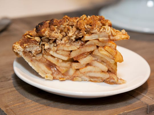 Dutch apple pie from the Dog Tag Bakery