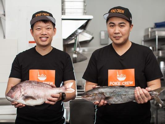 Chefs of Poke Crew