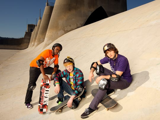 (L-R) Daniel Curtis Lee, Adam Hicks and Hutch Dan starred in 'Zeke and Luther.'