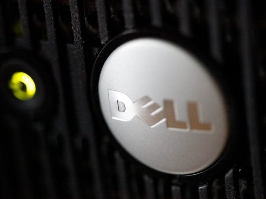 File photo taken in 2011 shows the Dell logo on one