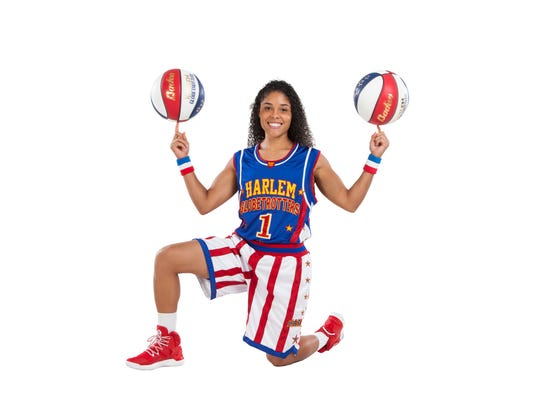 "5' 4"" point guard Ace Davis and the Harlem Globetrotters"