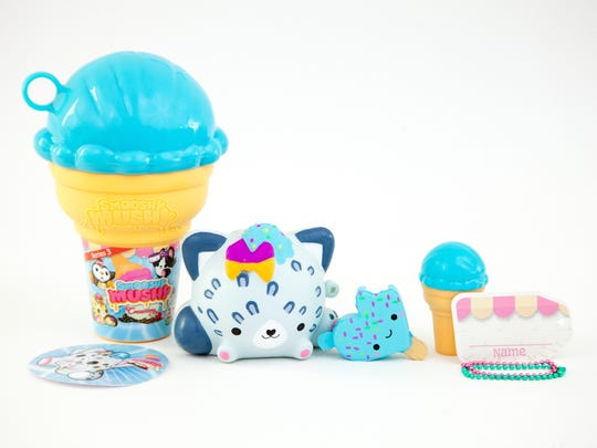 Smooshy Mushy collectible soft toys by Redwood Ventures.