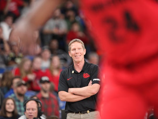 Mark Few had plenty to smile about during his team's