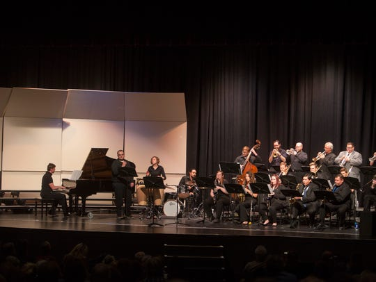 Members of the music community gather at Desert Hills