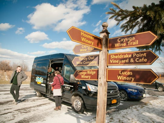 An Experience the Finger Lakes van tour.