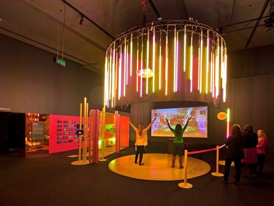 A large-scale version of Dance Central 3 allows participants