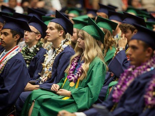 Snow Canyon High School commemorates the graduation