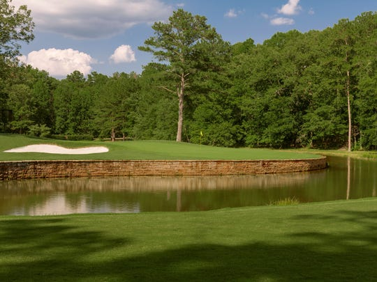 The 11th Hole of Shoal Creek Golf Club in the Shoal Creek, Ala.