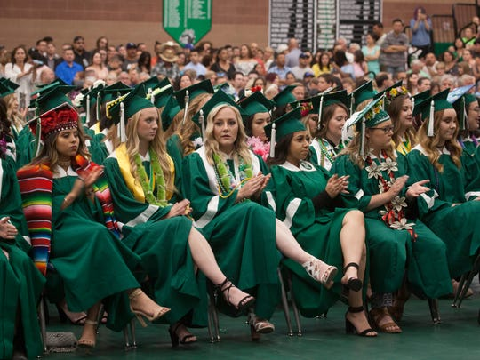 Virgin Valley High School commemorates the graduation