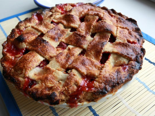 Strawberry Rhubarb pie.